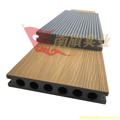 广东塑木地板厂家实心塑木地板厂家