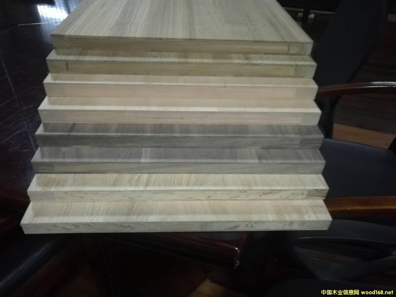 三层原木柜体板