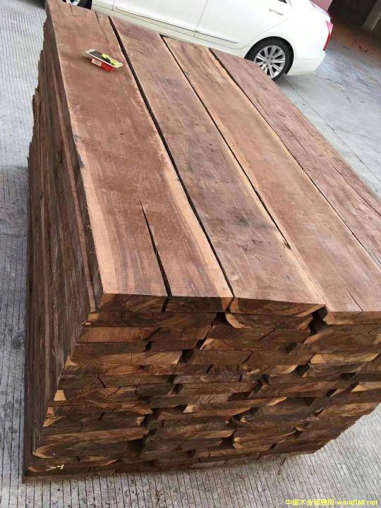 [供] 长期供应柬埔寨黑酸枝烘干板材