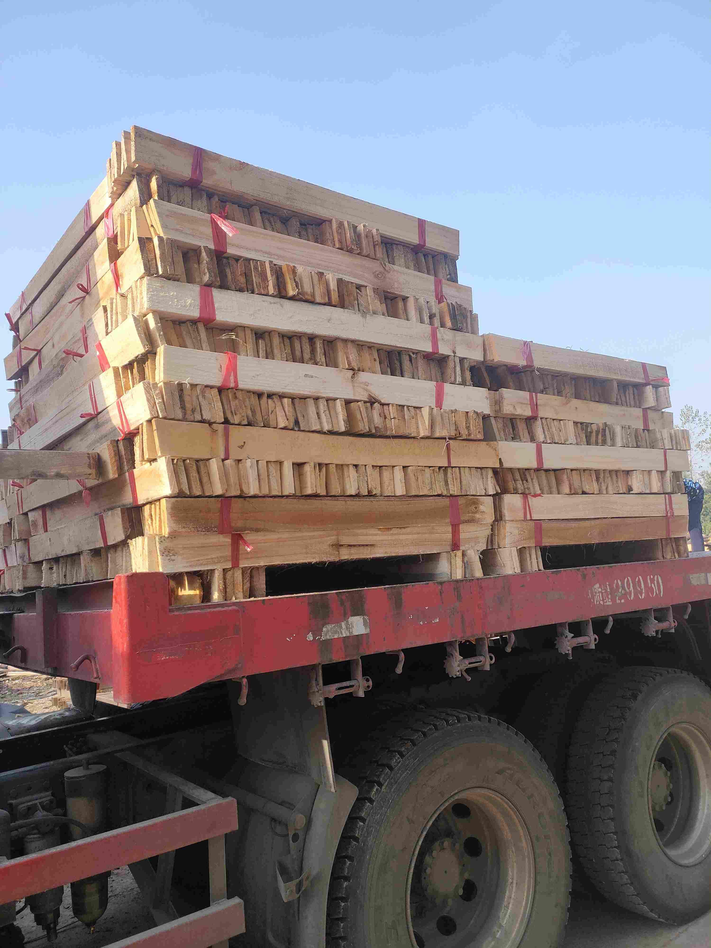 加工好杂木料