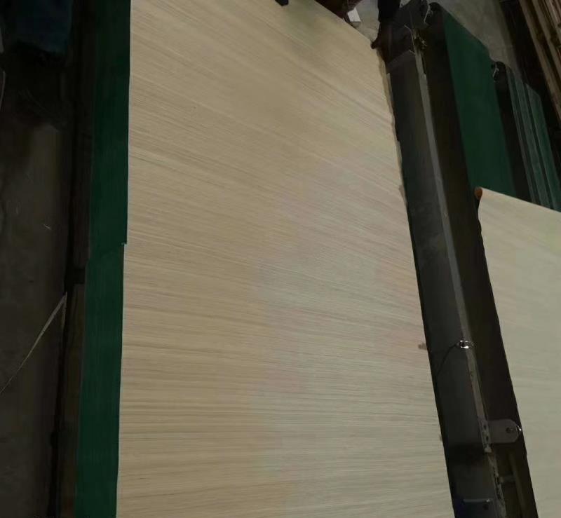 加长异形异型横纹短纤维科技木皮48尺各种规格