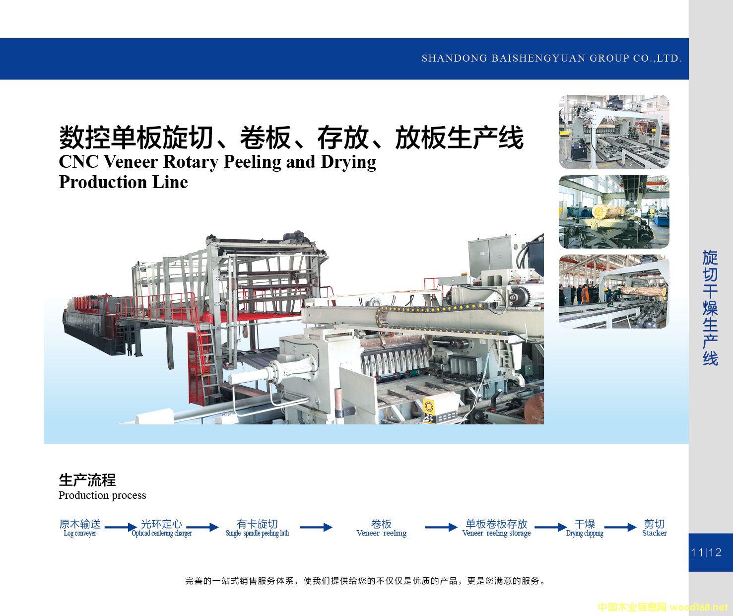 数控单板旋切、卷板、存放、放板生产线的详细介绍