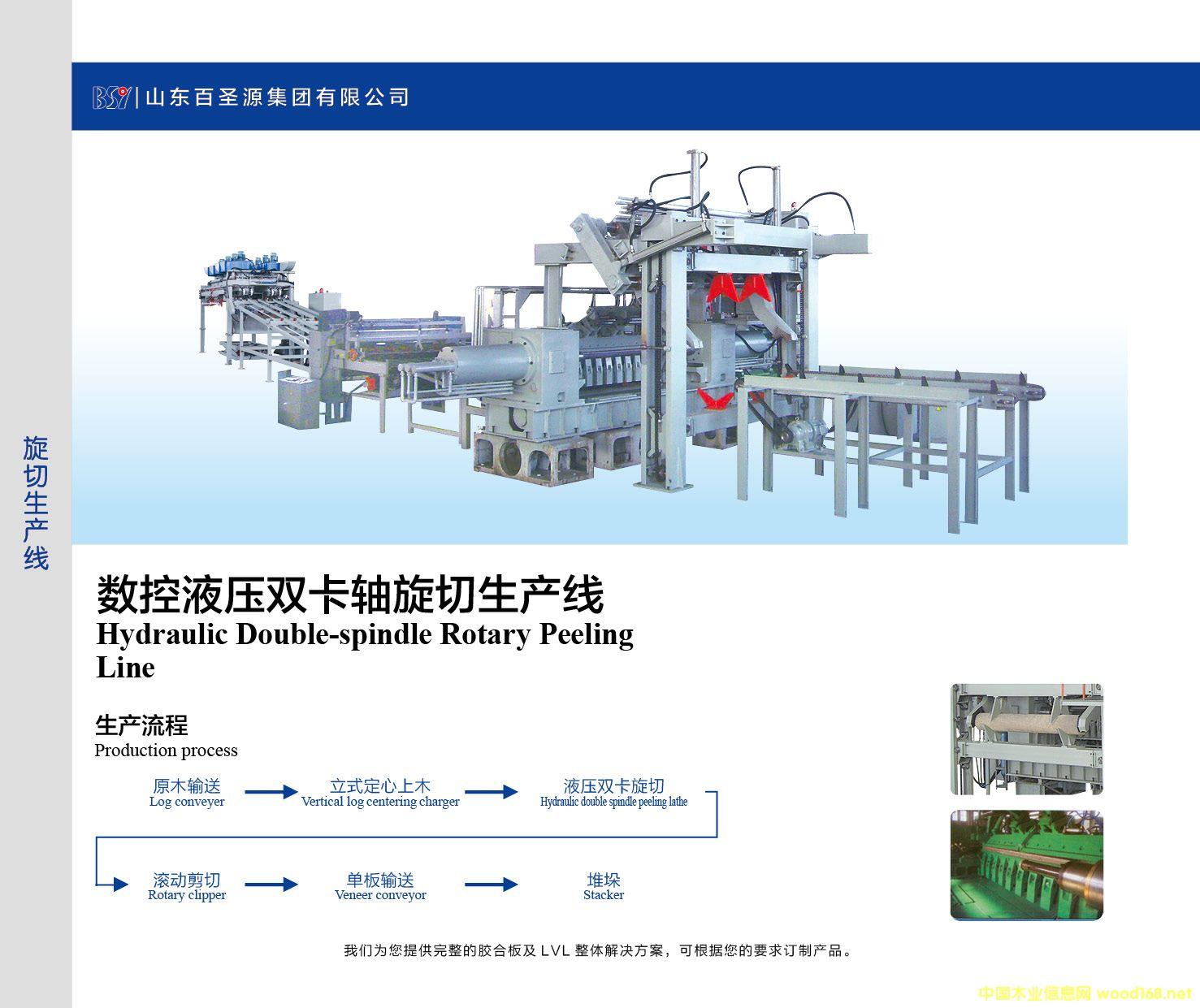 数控液压双卡轴旋切生产线的详细介绍