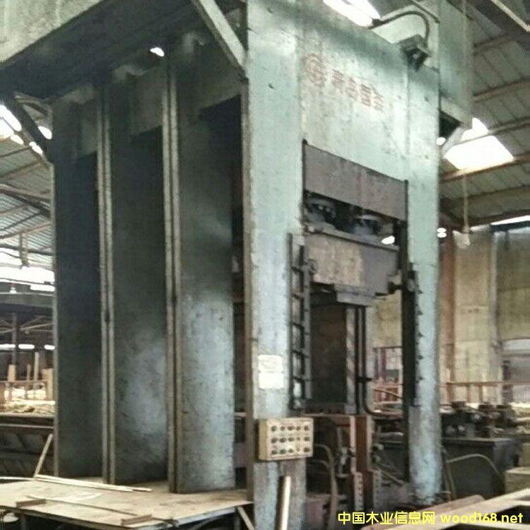 青岛国森产集成材冷压机转让