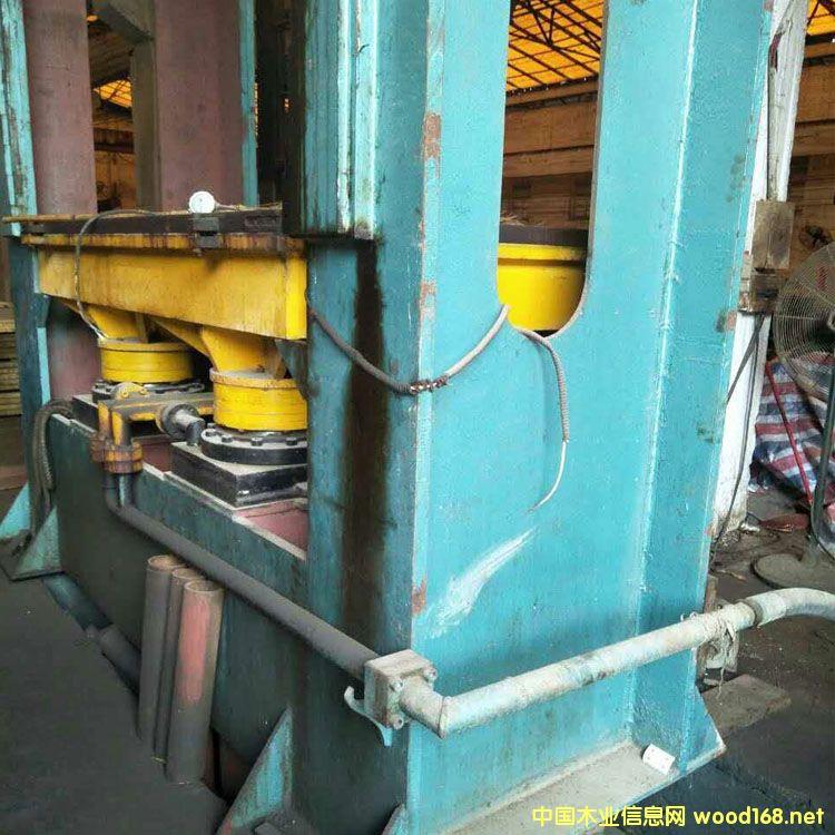 昆山产15层600吨三六尺热压机出售