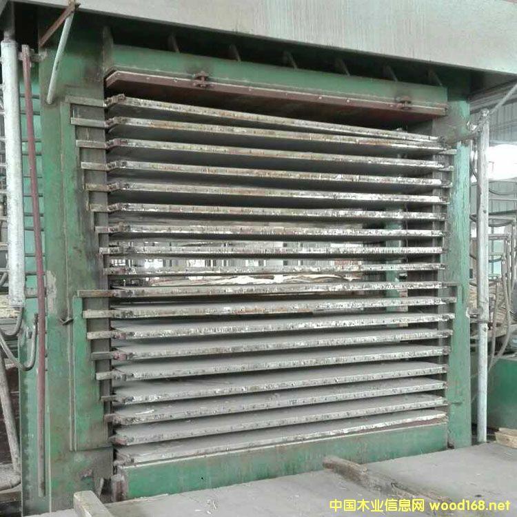 福建漳州产三六尺十八层二手热压机