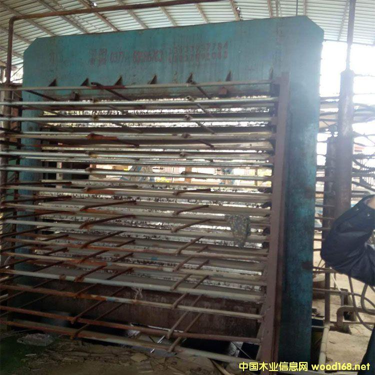 河南南阳产15层热压机出售