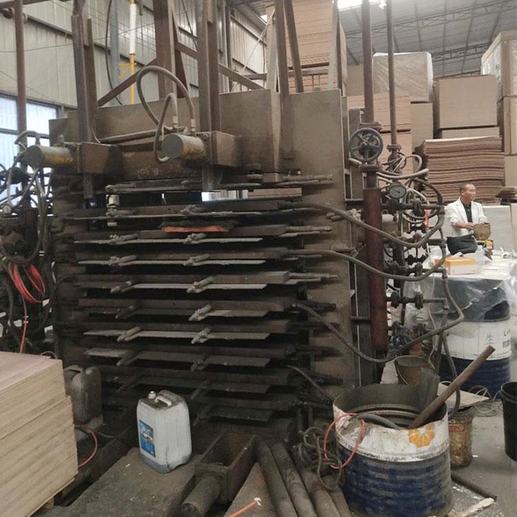 山东华信产十层四面侧压板材热压机