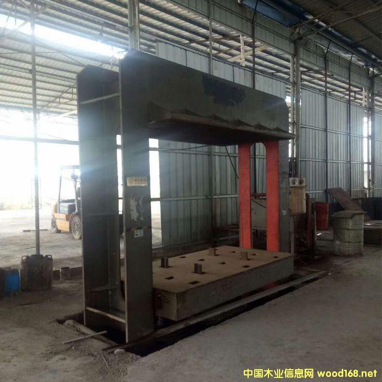9成新4*8尺400吨二手下压式冷压机