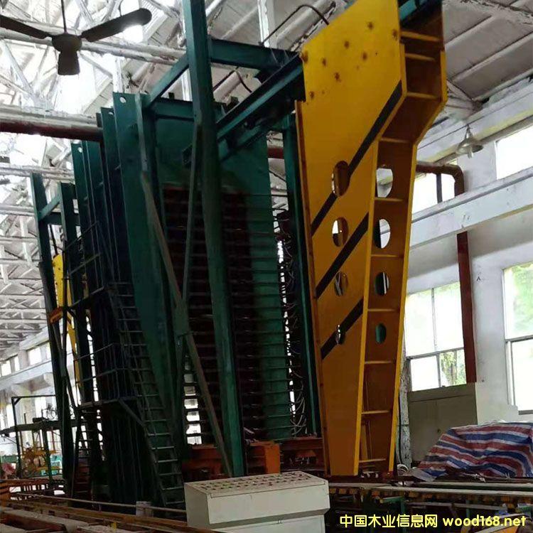 22层1500吨竹胶板热压机