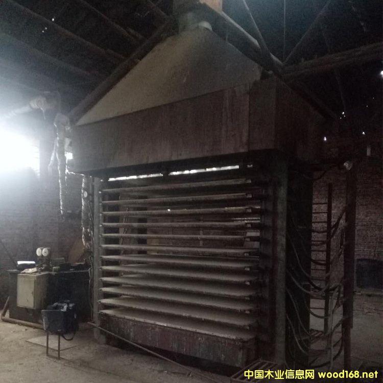 8成新福建漳州产36尺十五层二手横向热压机