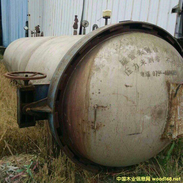江西德胜产7.5立方二手不锈钢竹木碳化炉