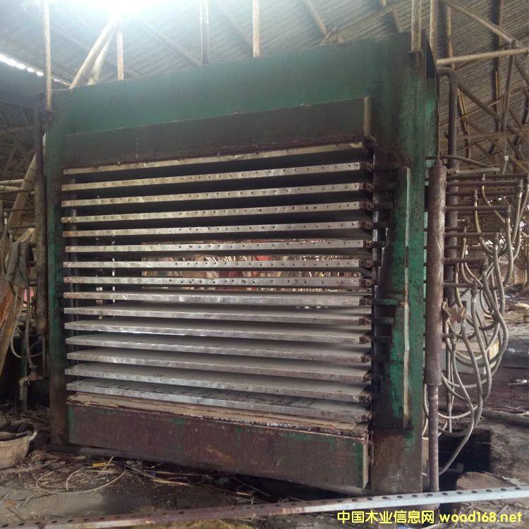 漳州松榕产3x6尺15层二手小型胶合板热压机