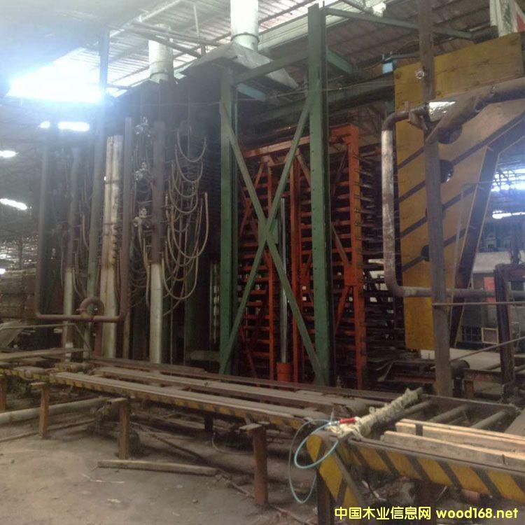 转让 福建大田产4x8尺大吨位木工热压机