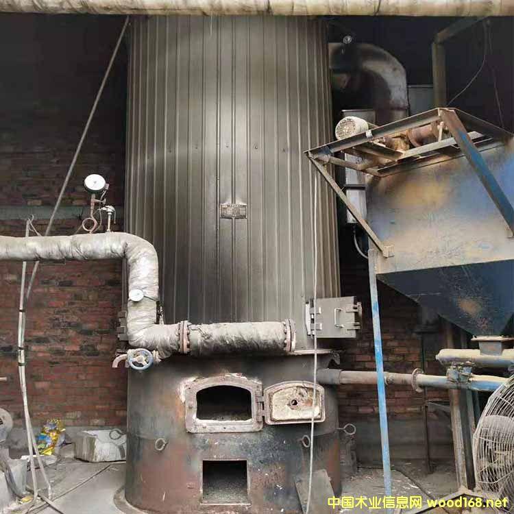 二手生物质锅炉 8成新常州常成产 80万大卡