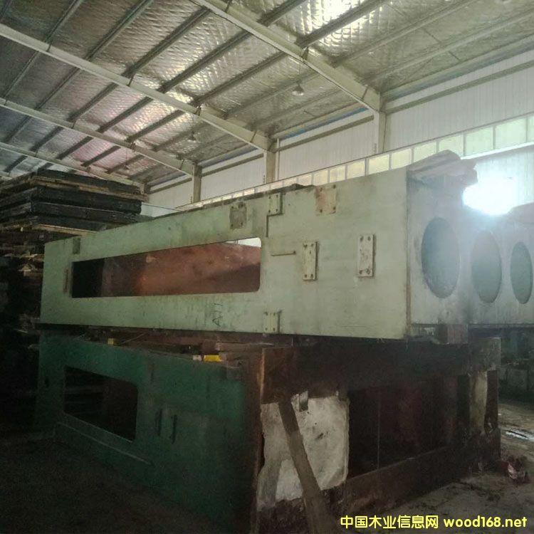 台湾联结4*8尺35层500t二手热压机
