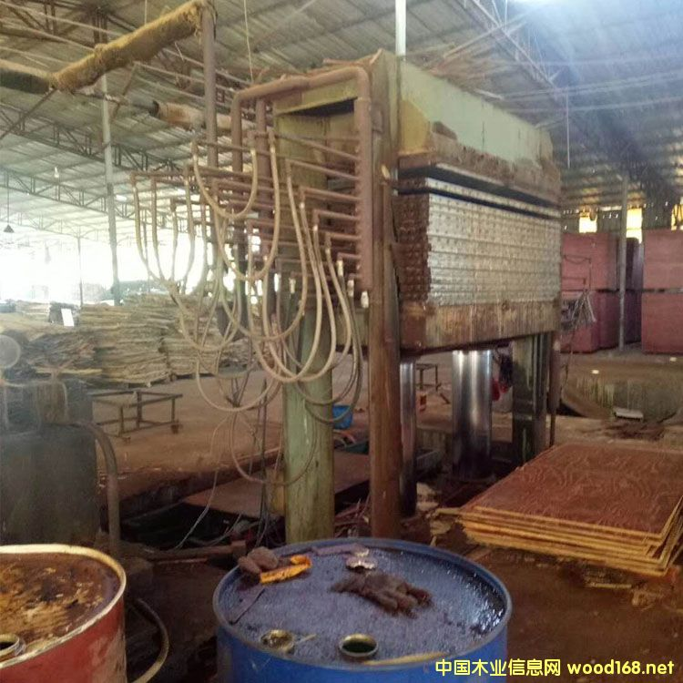 三明捷创三六尺十五层二手木工热压机图片