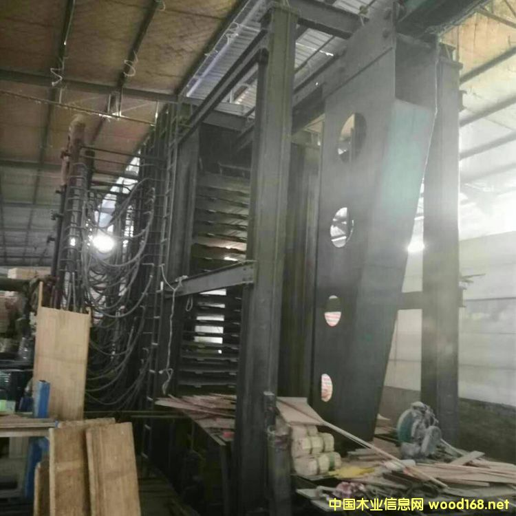 浙江常山产4/8尺19压18层二手木工压机