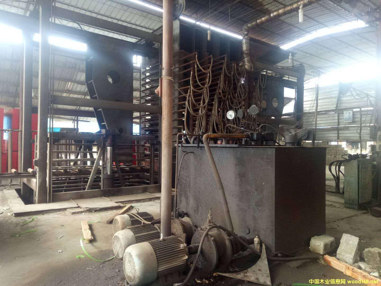 河北华龙产4*8尺16压15层二手全自动热压机
