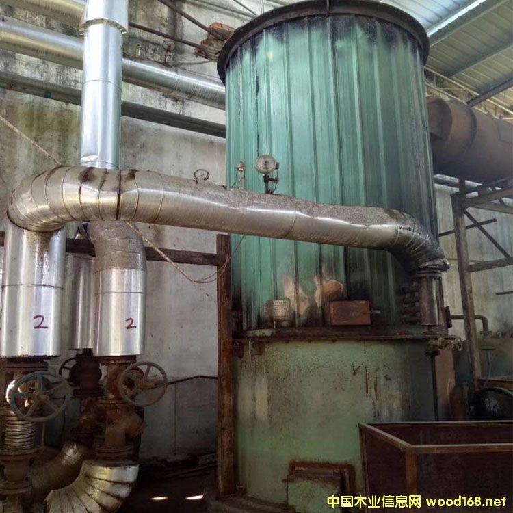 福建超然产120万大卡二手立式燃煤锅炉出售