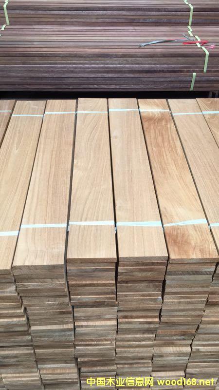 印尼柚木地板坯料