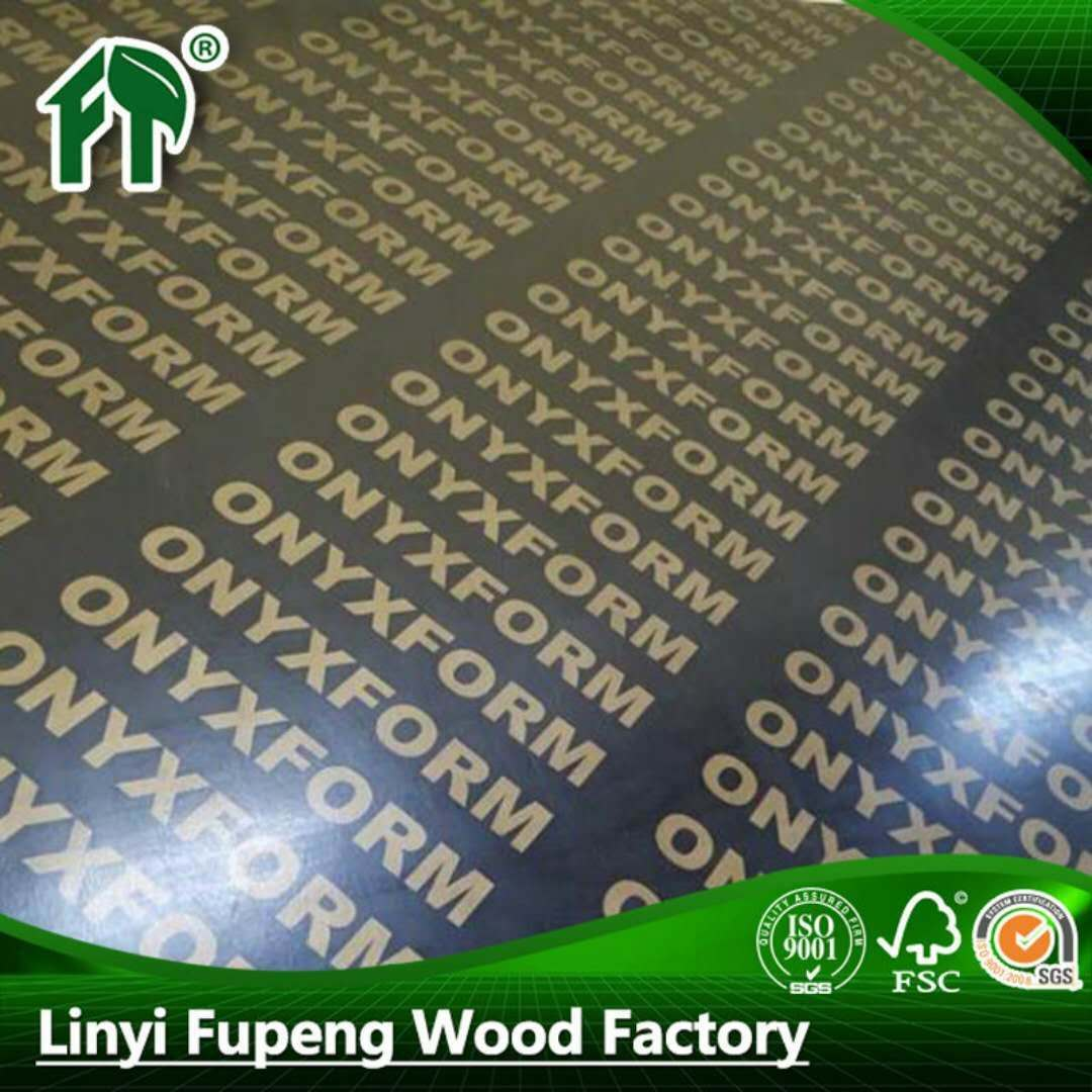 桉木芯酚醛胶覆膜板
