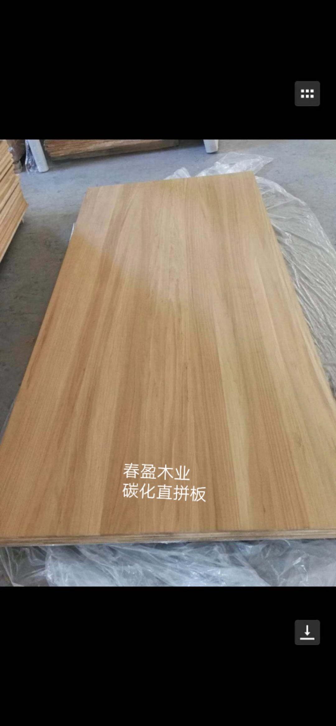炭化杨木直拼板