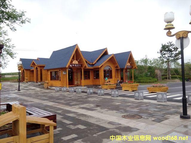 吉林中信美来木业--小木屋