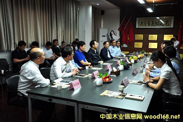 临沂市政府率团赴广东考察学习木业产业转型升级发展经验