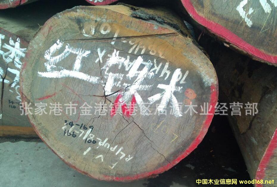 张家港木材市场唐木、漆木、铅笔柏、榄仁、奥坎、塔立畅销