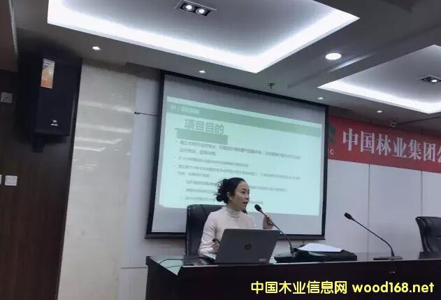 中林木材市场指数项目启动会正式召开
