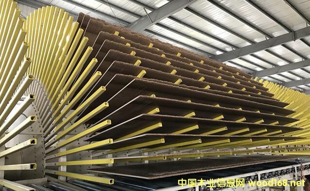 最先进的均质刨花板连续压机生产线和工艺技术