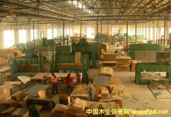 曾经繁荣的文安板材加工业