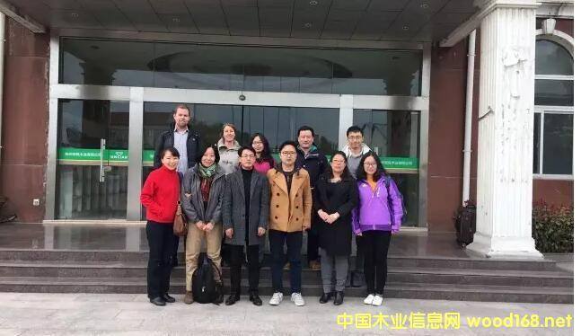 英国木材贸易联盟(UKTTF)等9位国内外专家莅临徐州安联木