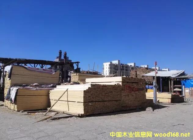 西藏最大!拉萨城投木材交易市场将迎300余户商家入驻
