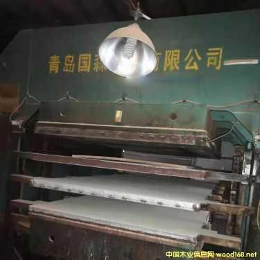 国森竹菜板、竹地板热压机出售