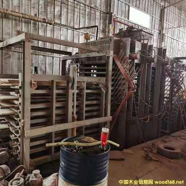 鲁工二手全自动两面侧压热压机10层600吨
