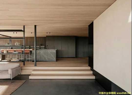 木饰面全屋定制-现代简约风